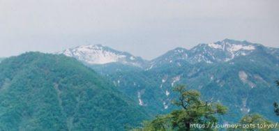 笈ヶ岳白山