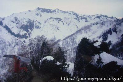 冬瓜山から