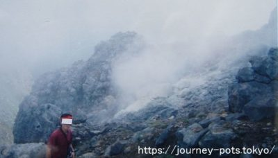 焼岳噴火口