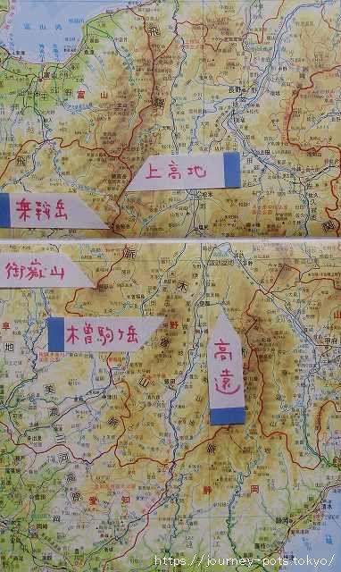 踏破・地図