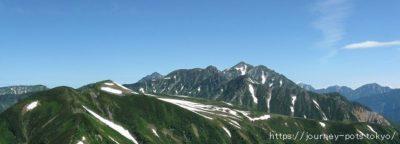 五色が原と立山(後方)